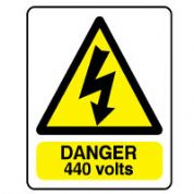 Warn099 - Danger 440 Volts